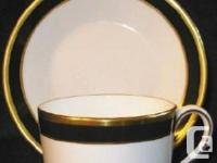 This lovely great bone china is from Coalport, England.