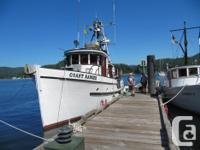 The Coast Ranger is for sale for the first time to the