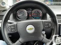 Make Chevrolet Model Cobalt SS Year 2005 Colour blue