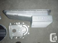 New Cobra finned alum oil frying pan for fe 390-428.