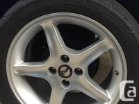 I'm offering my Cobra R rims and wheelses off my 1990