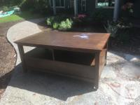 Coffee table for sale .. excellent condition except for