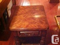 Coffee Table and End Table for sale. Best Offer. Call