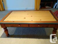 Coffee table and sofa table for sale. Both have