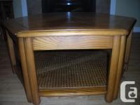 Coffee table, Skylar Peppler mission oak top & sides,