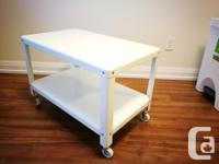 Hi, I am selling this IKEA white coffee table with