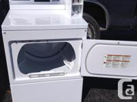 1 year old maytag coin operated dryer like new first