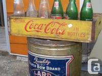 Coke box & more Courtenay Antiques 367-4th St.,