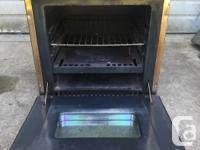 I have a Coleman stove/oven from a camper for sale .