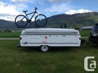 2002 Coleman Santa Fe Tent Trailer Light tent trailer