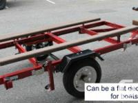 Heavy Obligation Foldable Utility Trailer.