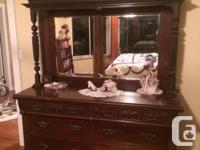 Collectible Antiques: in Duncan. Country Side Board,