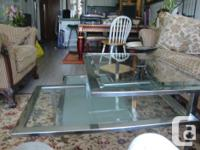 Collection, beautiful middle table staleness steel with