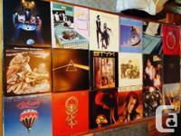 J'ai une collection de 68 disques vinyles 33 tours de