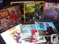 Classic country and western singer Jim Reeves, vinyl