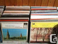 For sale is a collection of about 500 LPs. Mostly