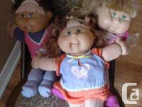 Cabbage Patch Dolls Collection of Cabbage Patch dolls