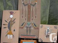 Here is a collection of Navajo original sand
