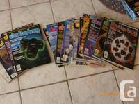Collection of 204 photography magazines dating from