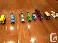 Over $300 in trains. All in very good condition with