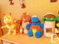 Vintage Teddy Ruxpin Talking Bear & His Buddy Grubby
