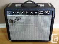 Collectors grade 1982 Fender Super Champ , with
