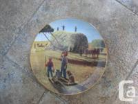 """We have 3 plates in the series titled """"Farming the"""