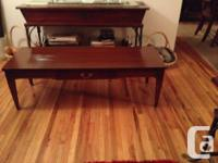 Beautiful Colonial Style Coffee Table. Easily valued at