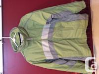Columbia winter months layer with zip in fleece jacket