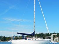 Comes with a good mooring on a buoy in Tsehum harbour