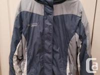 Columbia lady's wintertime coat, tool size. Tones of