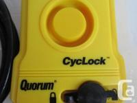 Quorum Brand Combination CycLock and Cycle Alarm