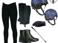 Everything you need to go riding! Full ladies riding