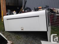 Commercial canopy for a full size truck 6.5 S/S slam