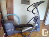 Precor Elliptical 524i:. Industrial elliptical machine,