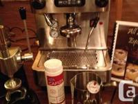 """I have a """"Like New"""" Espresso, Cappuccino & Latte"""