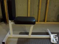 Multi Purpose Workout Bench - $180 OBO - Commercial