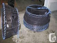 """Highest traps you can buy. 32"""" catch made with 8mm"""