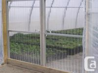 Greenhouses for rent. Very well setup for wholesale