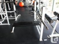 lots of commercial gym equipment that has to go. Is in