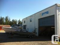 Sq Ft 1000 commercial shop on Hwy 4 between Parksville