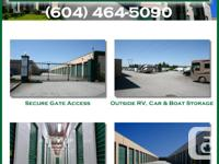 Imperial Self Storage in Port Coquitlam is having a One