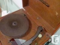 Electric turntable/record player very good condition
