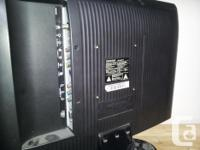 Compact LCD HDTV, very lightweight, perfect for video