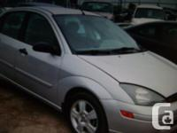 Make Ford Model Focus ST Year 2004 Colour silver kms