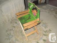 Dora the Explorer chair will make a perfect place for