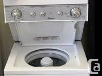"""Gently used 24"""" wide apartment size washer & dryer"""