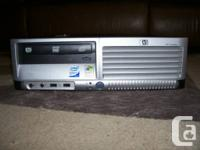 HP Compaq DC7700 SFF computer for sale with the