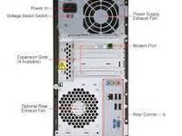 Compaq Presario SR5410F personal computer with monitor,