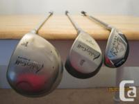 This quality lightweight set of ladies' clubs would be